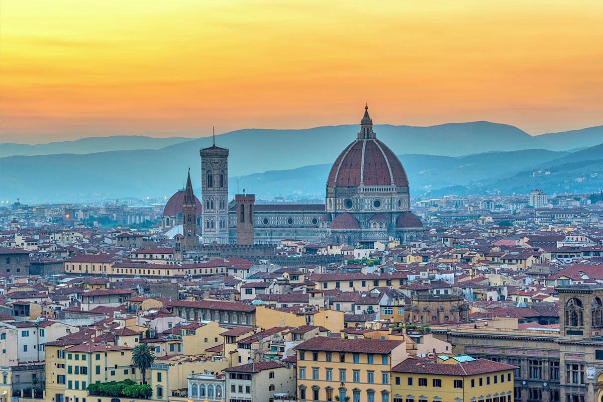 Florencia vista desde arriba